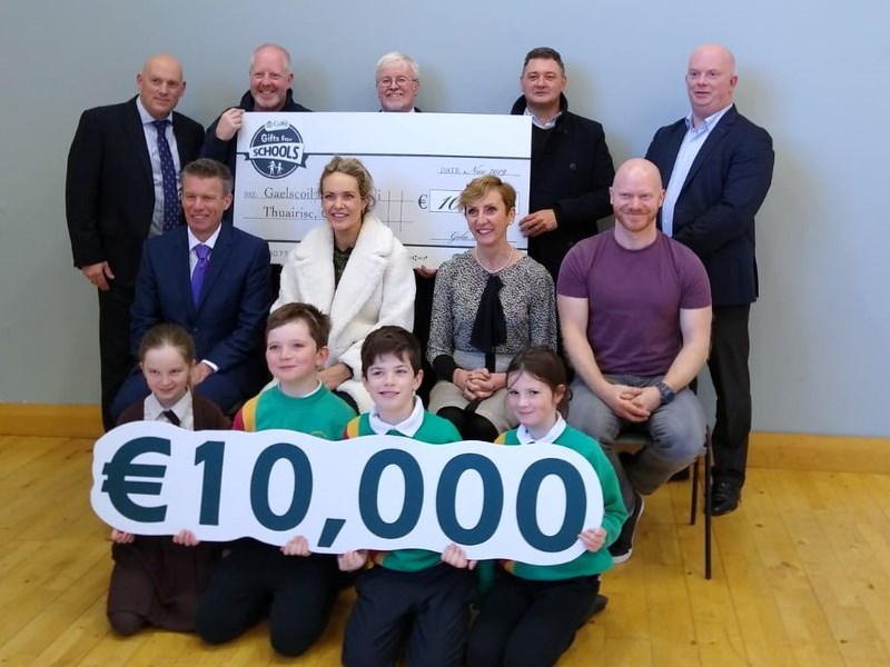 "€10,000 Buaite againn i  ""Gala Gifts for Schools"""