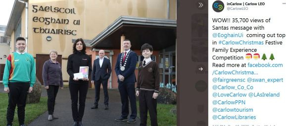 Swan's/LEO  Carlow Competition